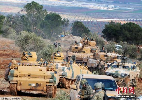 资料图:土耳其部队。