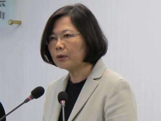 蔡英文上任不到两年,民调显示民进党出现2014以来最大的危机。图片来自台湾媒体。