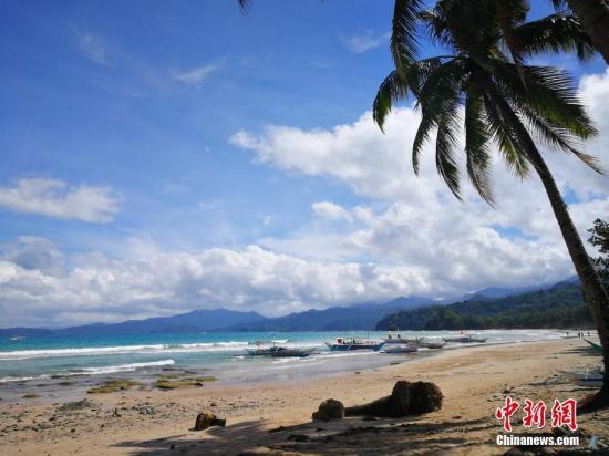 菲律宾海岛旅游圣地巴拉望吸引各国游客。中新社记者 关向东 摄