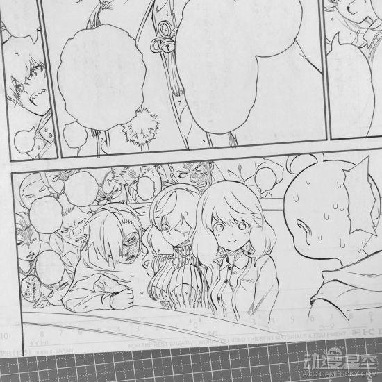 《双星之漫画师》情报51话人鱼稿图公布v漫画漫画巧克力阴阳图片