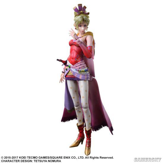 SE公布《最终幻想6》人气女主蒂娜手办 872元大长腿抱回家