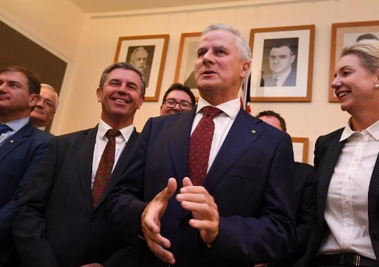 麦考马克当选新一任澳大利亚副总理。(图片来源:SBS新闻网)