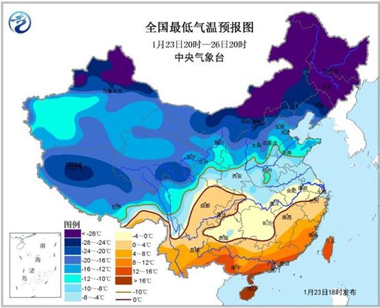必发365乐趣网投网址:寒潮蓝色预警:陕西湖南湖北局地气温下跌将超10℃