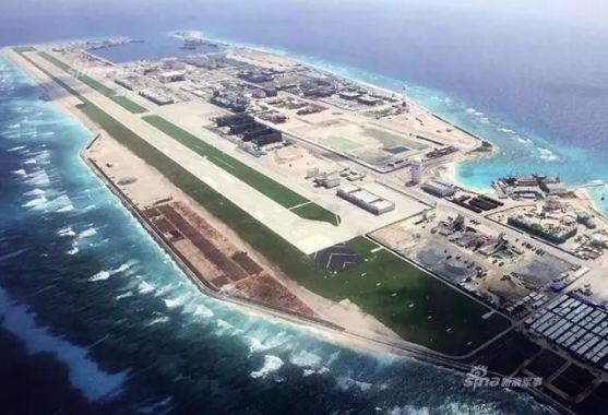 2018南海岛礁最新建筑