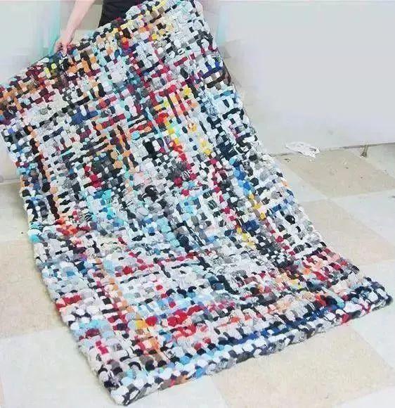 布条钩地毯步骤图解