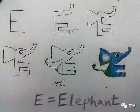 看老外是怎么教孩子学26个字母?简笔画教程,让
