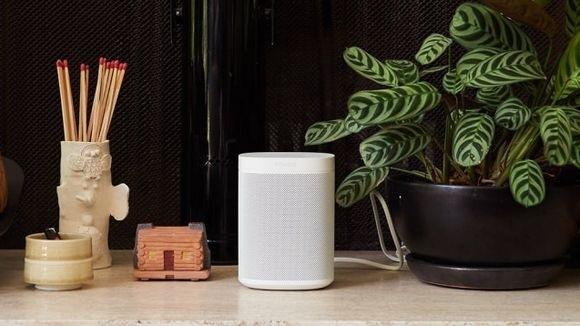 亚马逊 Alexa支持的Sonos One