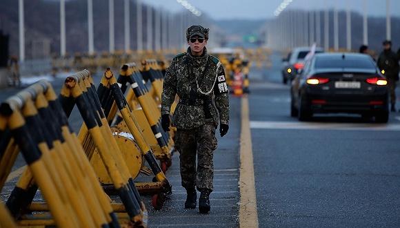 探访最后的冷战角落板门店:朝韩非军事区 却充