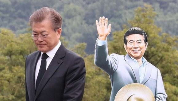 文在寅曾是卢武铉的幕僚,也是好友