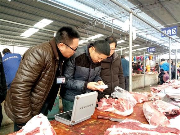 合川双凤镇开展食品安全大检查 让群众放心过春