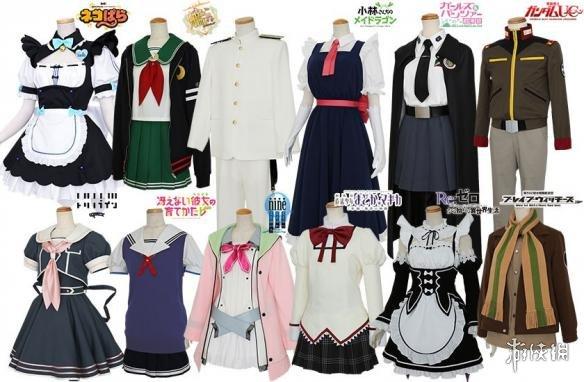 2017年COS服装销售排行公布 女仆装不敌学校制服!