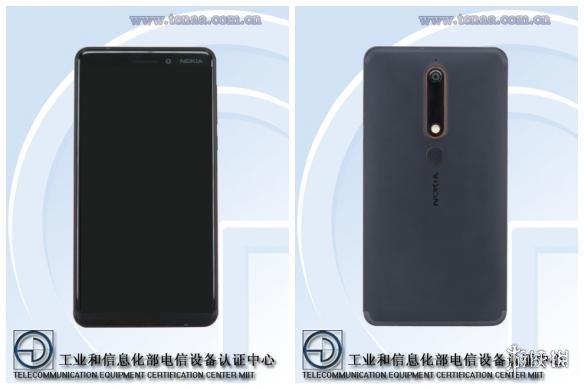 诺基亚首款全面屏手机配置出炉 诺基亚6真机图曝光!