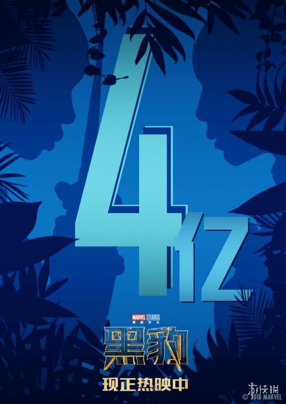 漫威《黑豹》国内首周票房破4亿 上映3天表现喜人!