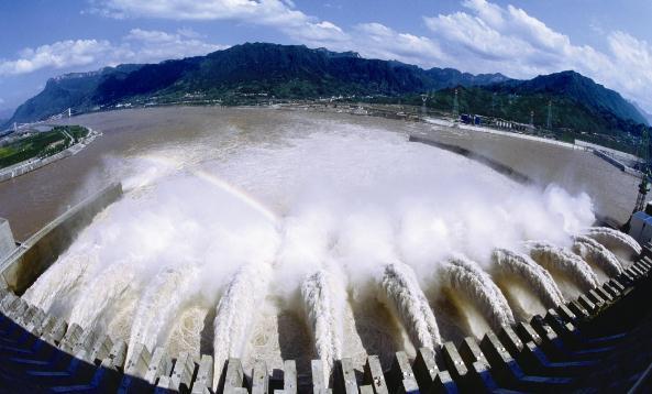三峡大坝。(资料图)