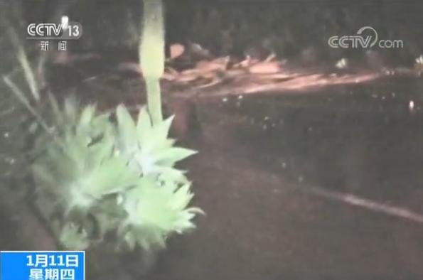 美国加州强降雨引发泥石流 17人丧生