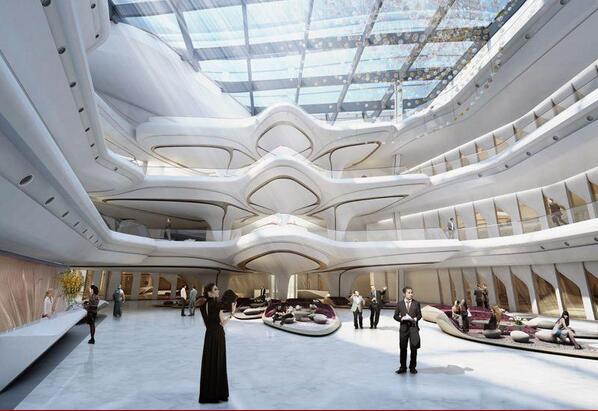 迪拜世界最高酒店开业 日媒:每晚均价才