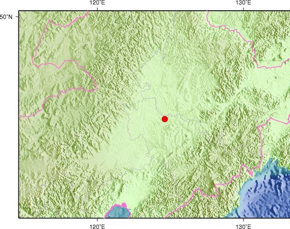 3月5日6时49分吉林松原市前郭尔罗斯县发生4.2级地震
