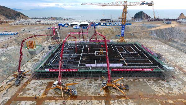 中国示范快堆工程土建开工,可大幅提高天然铀资源利用率