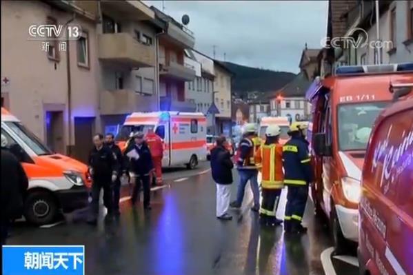 德国一校车发生交通事故 48人受伤包括43名儿童