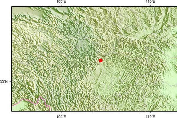 1月20日8时36分四川绵阳市北川县发生3.2级地震