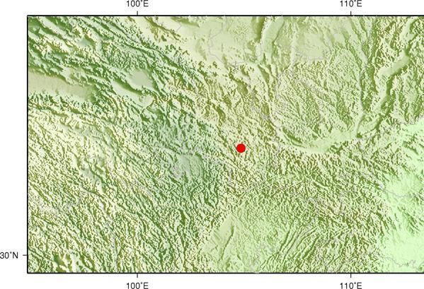 3月13日16时2分甘肃陇南市礼县发生2.9级地震