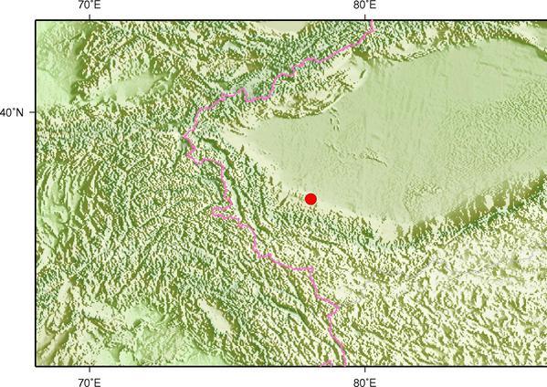 新疆和田皮山县发生3.6级地震 震源深度23千米