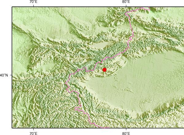 12月31日3时6分新疆克孜勒苏州阿图什市发生3.1级地震