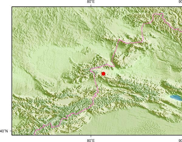 2月4日5时46分新疆博尔塔拉州博乐市发生3.7级地震