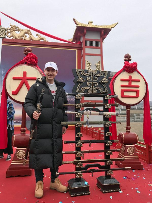 刘凯加盟冯小刚监制《剑王朝》 首挑古装造型