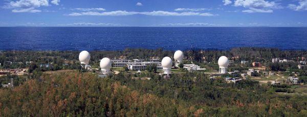 资料图片:图为陆地观测卫星数据全国接收站网建设项目海南三亚站。新华社发(中科院遥感地球所供图)