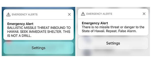 美国联邦通讯委员会:夏威夷州警报系统似无防错机制