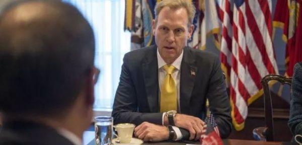 图为美国副国防部长帕特里克·沙纳汉