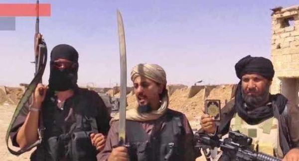 资料图片:IS极端武装恐怖分子。(图片来源于网络)
