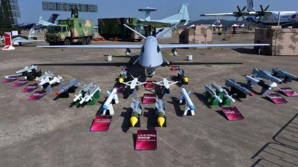 中国无人机亮相马来西亚防展 印尼疑似购16架彩虹4
