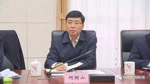 天津市副市长何树山调任安徽省政府党组成员