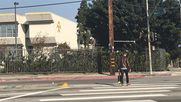 法拉第未来位于洛杉矶总部园区。