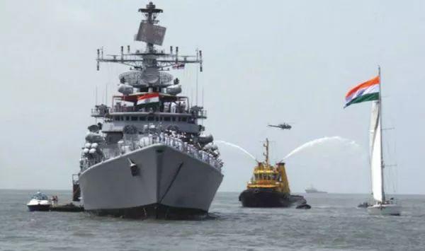▲印度海军舰艇