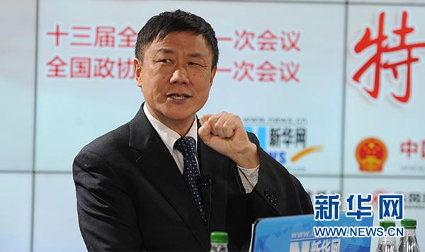 3月5日,国家发改委学术委研究员、中国国际经济交流中心首席研究员张燕生做客新华网2018全国两会特别访谈。