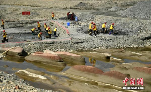 江口沉银︱二期考古:发掘面积是去年两倍