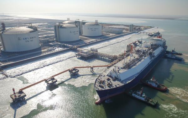 中石化天津接收站首船LNG到港 将向京津冀鲁地区供气