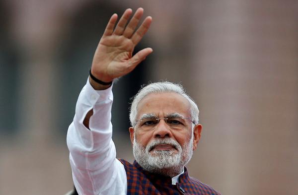印度总理莫迪 视觉中国 资料图