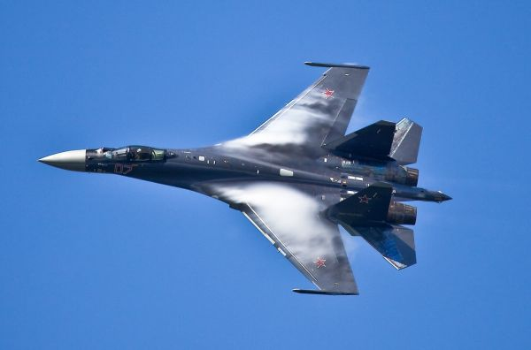 资料图片:俄军装备的苏-35S重型战斗机。(图片来源于网络)