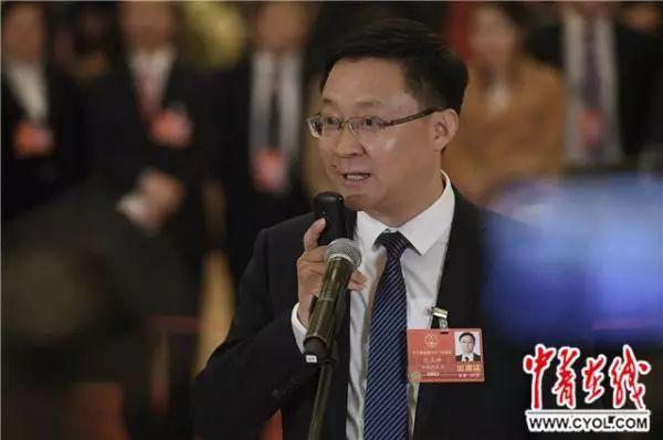 全国人大代表、科大讯飞股份有限公司董事长刘庆峰 中青在线 图