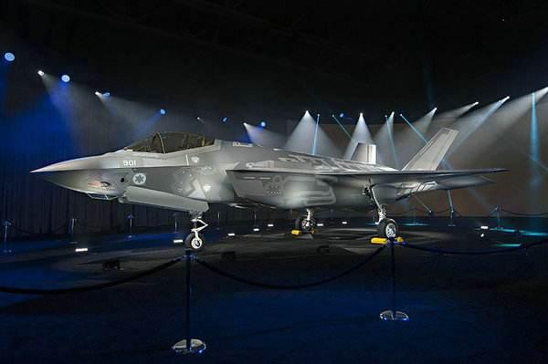 金沙网站:以色列宣布正式列装F35隐身战机
