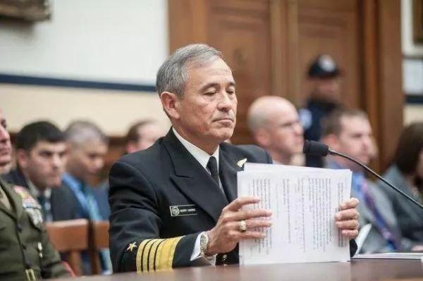 ▲资料图片:美国太平洋司令部司令哈里斯