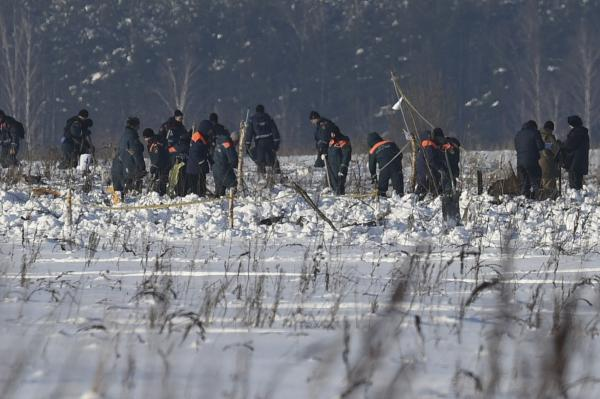 莫斯科空难赔偿提至三百万卢布 积雪太厚搜寻难