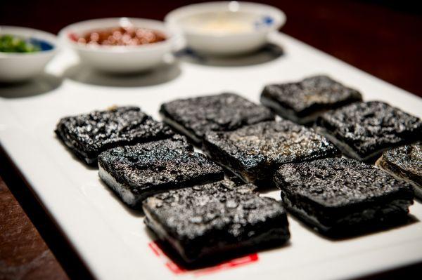 资料图:徽州臭豆腐。