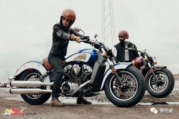 印第安2018年全序列摩托车