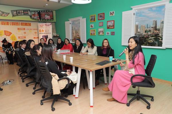 上海剧协和戏曲学院与社区共建戏曲文化,把讲座送进商务楼