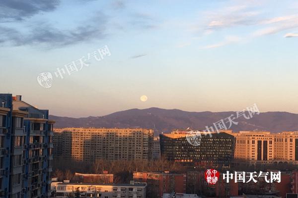 4日北京全天气温处于冰点以下 最低温为